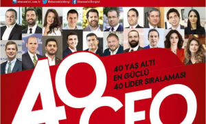 """CEO'muz Kemal Urhan, Ekonomist dergisinin yaptığı """"40 YAŞ ALTI EN GÜÇLÜ 40 LİDER SIRALAMASI'NDA"""""""